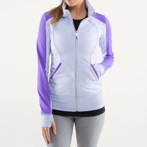 Purple Lululemon Contempo jacket